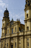 Barokke kerk Stock Afbeeldingen