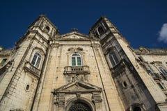 Barokke kerk de Lagere stad, Salvador, Bahia, Brazilië stock fotografie
