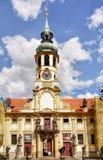 Barokke Kerk Praag, Tsjechische Republiek Stock Fotografie