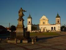 Barokke kerk in Tykocin Royalty-vrije Stock Foto