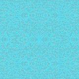 Barokke Lichtblauw en Zilveren Stijl, eps10 Royalty-vrije Stock Foto