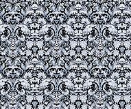 Barokke naadloze patroon achtergrondbehangillustratie Royalty-vrije Stock Foto's