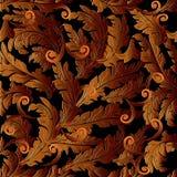 Barokke oppervlakteornamenten Royalty-vrije Stock Afbeeldingen