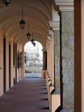 Barokke passage Royalty-vrije Stock Afbeeldingen