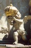 Barokke Putto stock afbeeldingen