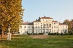 Barokke Tesoriera-villa in een zonnige de herfstdag in Turijn, Italië royalty-vrije stock foto