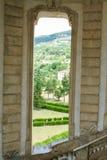 Barokke treden van chartreuse, Padula, Royalty-vrije Stock Foto's