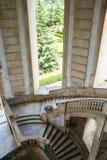 Barokke treden van chartreuse, Padula, Stock Foto