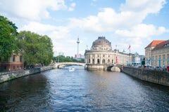 Barokowa architektoniczna powierzchowność Czekam muzeum od północnej końcówki, Fotografia Stock