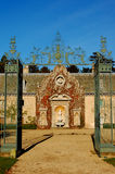 Barokowa brama obrazy stock
