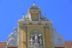 Barokowa fasada Zdjęcia Royalty Free