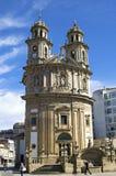 Barokowi pielgrzymi kościelny Virxe Peregrina Pontevedra Zdjęcie Stock