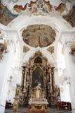 Barokowy Bawarski kościół Fotografia Royalty Free