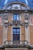 barokowy fasadowy ozdobny styl Fotografia Royalty Free