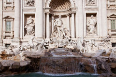 barokowy fontanny trevi arcydzieła Włochy Rzymu Obrazy Royalty Free