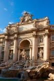 barokowy fontanny trevi arcydzieła Włochy Rzymu Zdjęcie Royalty Free