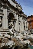 barokowy fontanny trevi arcydzieła Włochy Rzymu Zdjęcia Stock