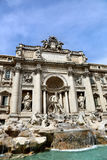 barokowy fontanny trevi arcydzieła Włochy Rzymu Obraz Stock
