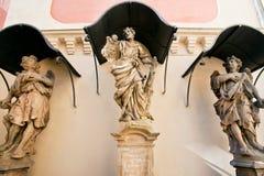Barokowy kościół St Joseph zdjęcie stock