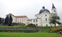 Barokowy kościół, wioska Krtiny, Moravia, republika czech, Europa Fotografia Royalty Free