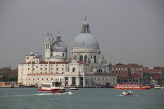Barokowy kościelny Santa Maria della salut, Wenecja, Włochy Zdjęcie Royalty Free