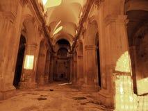 barokowy kościelny wykolejeniec fotografia royalty free