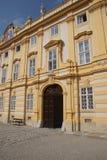 Barokowy podwórze Benedictjne opactwo obraz royalty free
