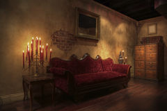 barokowy pokój Obrazy Stock