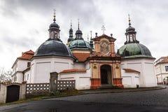 Barokowy przyklasztorny i Tabor miasto, republika czech obrazy royalty free