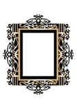 Barokowy rokoko ramy wystrój Fotografia Stock