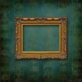 barokowy rzeźbiący ramowy wiktoriański ściany drewno Obrazy Stock