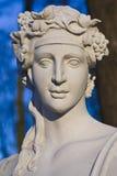 Barokowy rzeźby popiersie. Zdjęcie Royalty Free