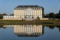 Baroku Augustusburg kasztel jest jeden pierwszy znacząco tworzenia rokoko w Bruhl blisko Bonn Zdjęcie Stock