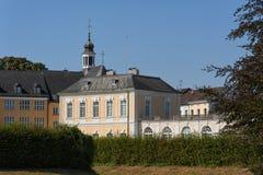 Baroku Augustusburg kasztel jest jeden pierwszy znacząco tworzenia rokoko w Bruhl blisko Bonn Obrazy Stock