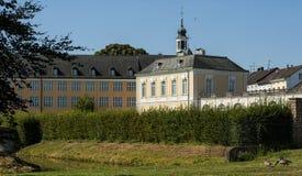 Baroku Augustusburg kasztel jest jeden pierwszy znacząco tworzenia rokoko w Bruhl blisko Bonn Obrazy Royalty Free