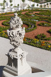 Baroku ogród, Bratislava kasztel, Sistani, Sierpień 02, 2016 Obrazy Royalty Free