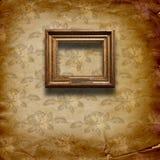 baroku ram grunge wnętrza styl Obrazy Royalty Free