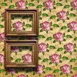 baroku ram grunge wnętrza styl Fotografia Stock