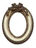 baroku ramowy owalny obrazka kształt Zdjęcia Royalty Free