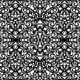 Baroku stylu wzór, wektorowy bezszwowy wzór Zdjęcie Stock