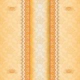 Baroku wzór z ornamentacyjnym divider Obraz Stock