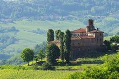 Barolo Castello di La Volta Fotografie Stock