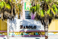 Barolo hotel and Restaurant t Ocean Stock Photography