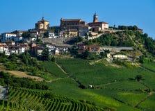 Barolo Piemonte Italië stock foto's