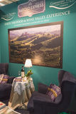 Barolo stand at Bit 2015, international tourism exchange in Milan, Italy Stock Images