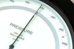 Baromètre de temps Image stock