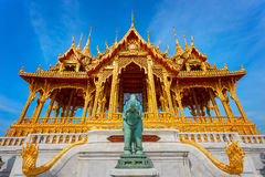 Barom Mangalanusarani Pavilion in Bangkok, Thailand Stock Image