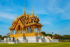 Barom Mangalanusarani Pavilion in Thailand Stock Images