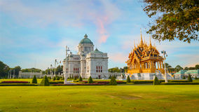 Barom Mangalanusarani Pavilion in Thailand Royalty Free Stock Photography