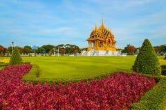 Barom Mangalanusarani Pavilion in Thailand Stock Photos